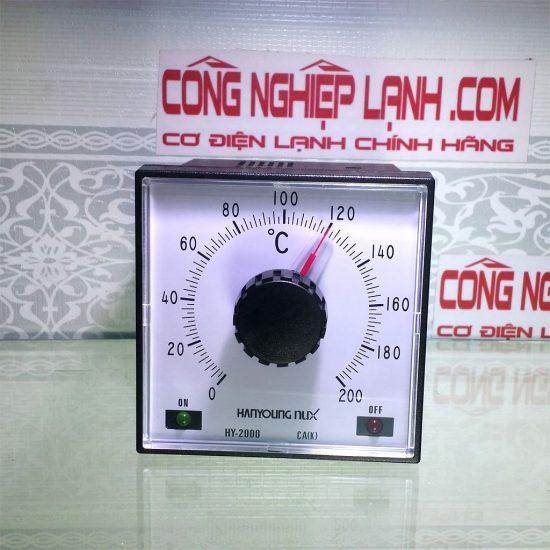 Điều khiển nhiệt độ analog Hanyoung HY-2000 PKMNR05