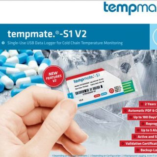 Nhiệt kế tự ghi Tempmate-S1-V2