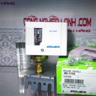 Relay áp suất đơn SAGINOMIYA max 3 bar