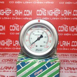 Đồng hồ áp suất HTGauge HT60-30BS