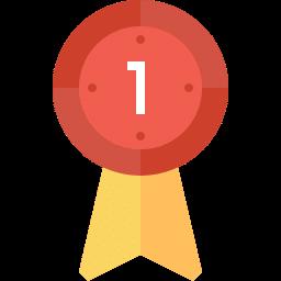 1495489462 best award badge winner ribbon flat icon 1