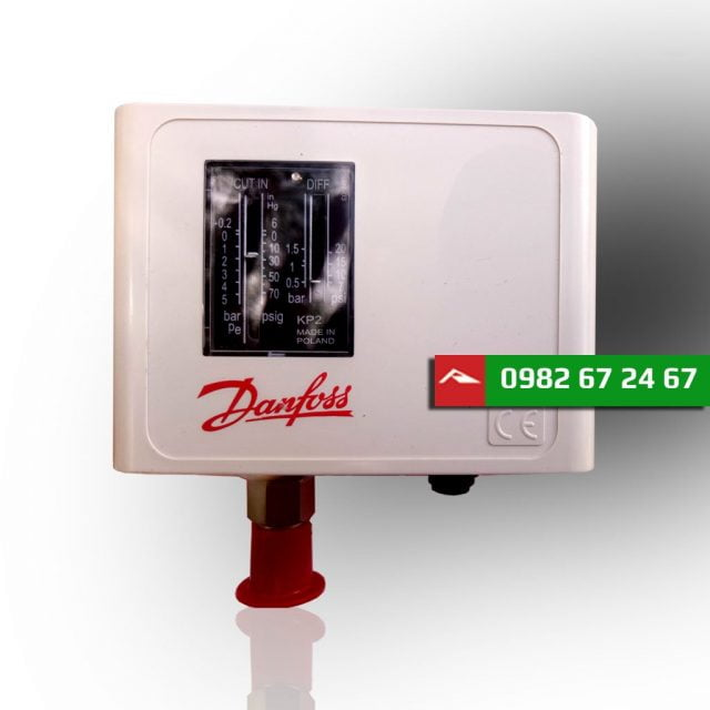 Công tắc áp suất thấp DANFOSS KP2 (060-112066)