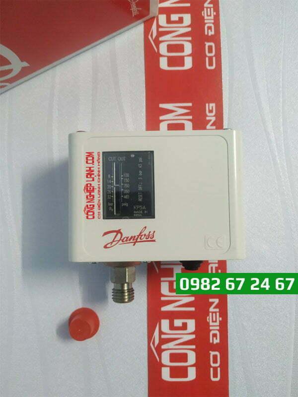 Danfoss KP5A (060-500791) - Công tắc áp suất NH3