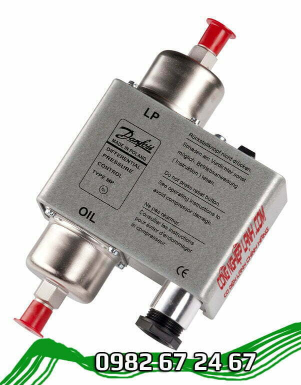 Công tắc áp suất dầu Danfoss MP55A (060B017566)