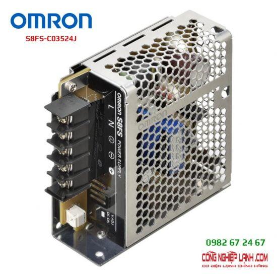 Catalog Omron S8FS-C03524J - bộ nguồn 24V-1,5A