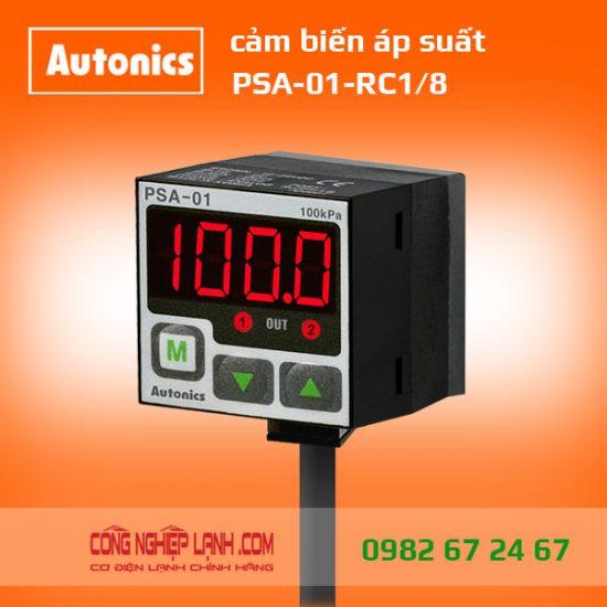 PSA-01-RC1/8 - Cảm biến áp suất có màn hình hiển thị