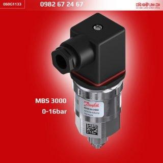 Cảm biến áp suất Danfoss MBS 3000 16bar (060G1133)