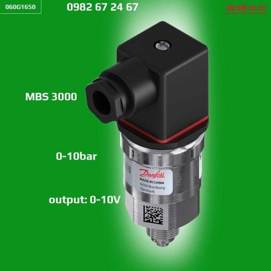 Cảm biến áp suất Danfoss MBS 3000 10bar (060G1650)