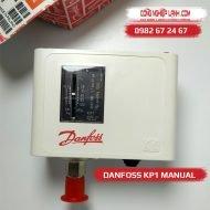 Relay áp suất thấp DANFOSS KP1 Manual (Poland)