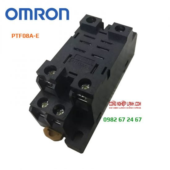 Đế relay 8 chân Omron PTF08A-E