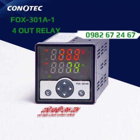 Điều khiển nhiệt độ và độ ẩm FOX-301A-1