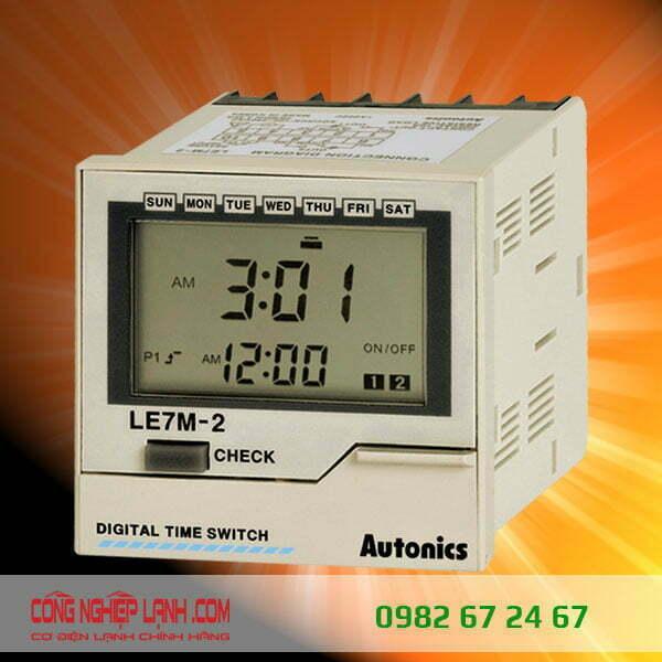 Autonics LE7M-2 - Định thì thời gian thực