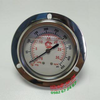 Đồng hồ áp suất VSS 30bar mặt 60mm chân sau