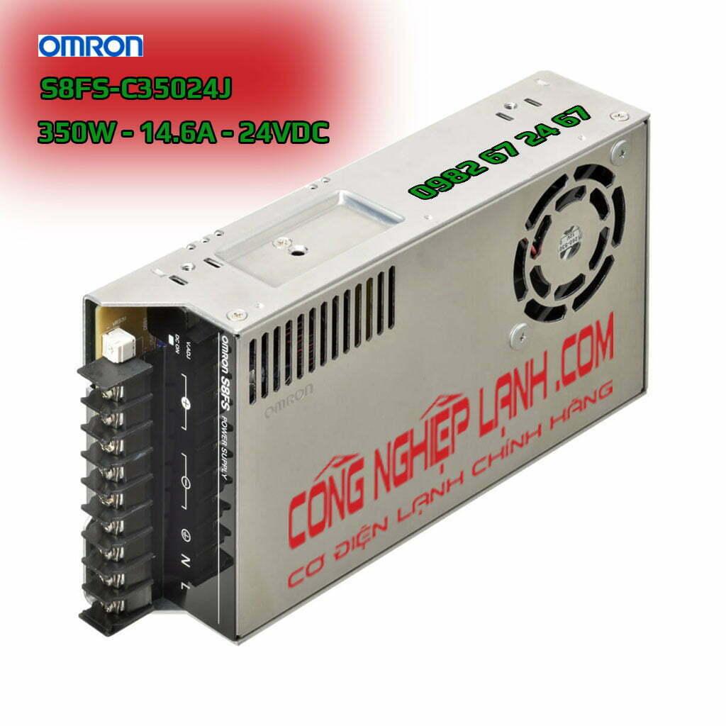 Omron S8FS-C35024J - bộ nguồn 24V -350W - 14.6A