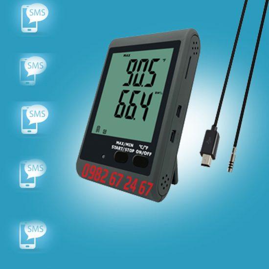 Nhiệt kế tự ghi có cảnh báo SMS GSM-10E