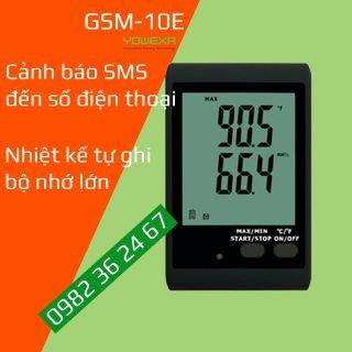 GSM-10E nhiệt kế tự ghi có cảnh báo SMS