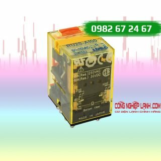 Relay kiếng IDEC - 8 chân dẹp - 24VAC/10A