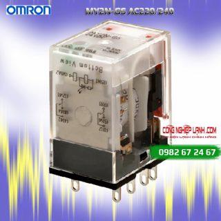 Relay kiếng Omron MY2N-GS AC220/240 3A