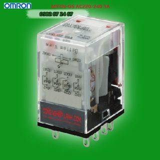 Relay kiếng Omron MY4N-GS AC220/240 3A