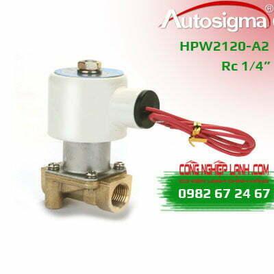 Van điện từ Autosigma HPW2120-A2 - 2way - 220VAC