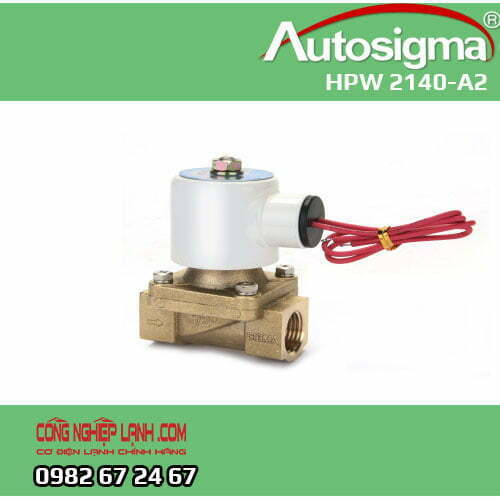 HPW 2140-A2 - van điện từ Autosigma - 2way - 220V