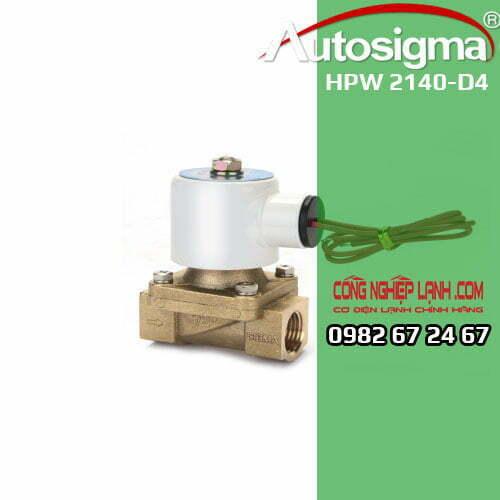 Van điện từ Autosigma HPW 2140-D4 - 2way - 24V