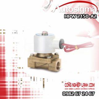 HPW 2150-A2 - van điện từ Autosigma - 2way - 220V