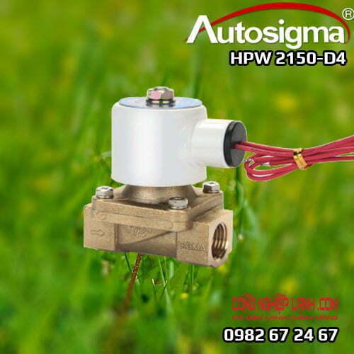 HPW 2150-D4 - van điện từ Autosigma - 2way - 24V