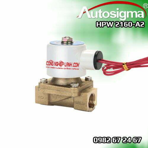 HPW 2160-A2 - van điện từ Autosigma - 2way - 220V