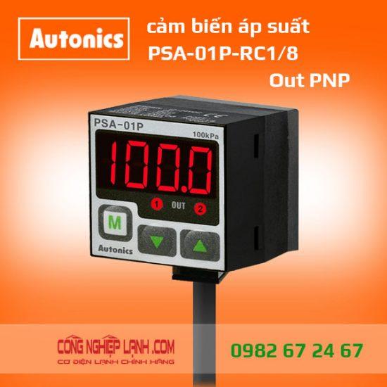 Cảm biến áp suất PSA-01P-RC1/8 - có màn hình hiển thị