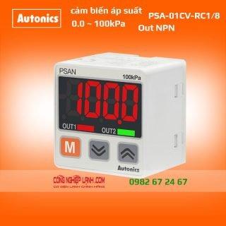 Cảm biến áp suất PSAN-01CV-RC1/8 - có màn hình hiển thị