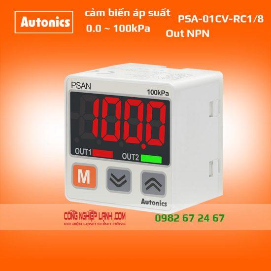 Cảm biến áp suất Autonics PSAN-01CV-RC1/8 - có màn hình hiển thị