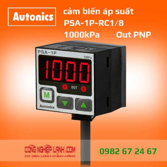 Cảm biến áp suất PSA-1P-RC1/8 - có màn hình hiển thị