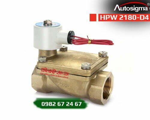 HPW 2180-D4 - van điện từ Autosigma - 2way - 24VDC
