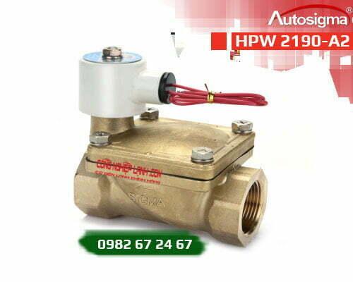 HPW 2190-A2 - van điện từ Autosigma - 2way - 220VAC