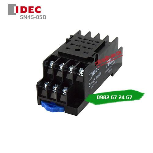 Đế relay 14 chân dẹp IDEC SN4S-05D