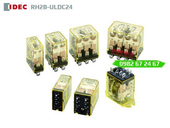 Relay kiếng 8 chân lớn IDEC RH2B-ULDC24