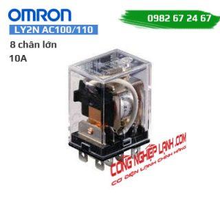 Relay trung gian Omron LY2N AC100/110 - 10A - 8 chân lớn