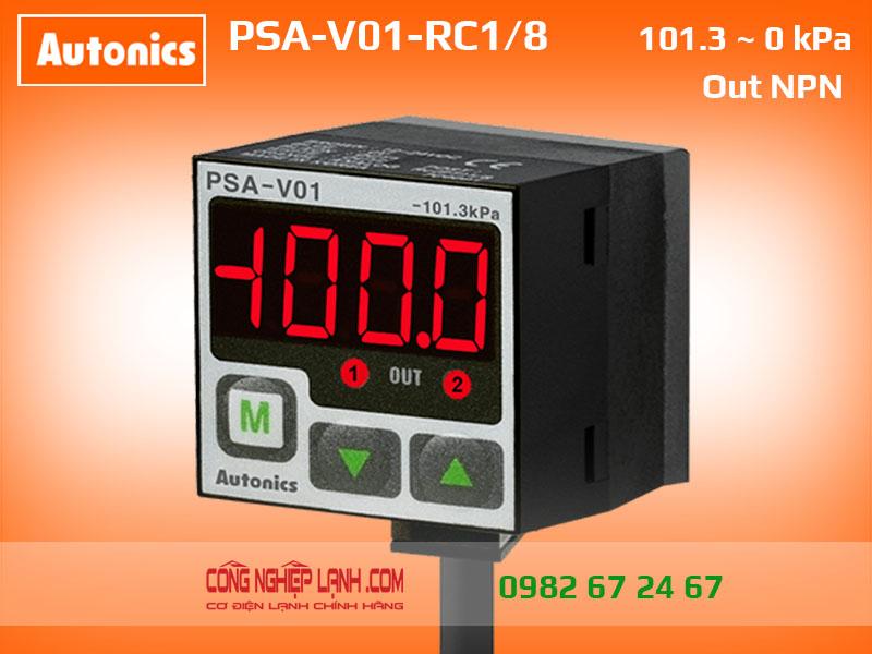 PSA-V01-RC1/8 - Cảm biến áp suất âm Autonics